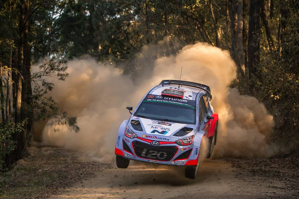 FIA WORLD RALLY CHAMPIONSHIP (WRC 2015): HYUNDAI SHELL WORLD RALLY TEAM – HYUNDAI MOTORSPORT CEMENTS CHAMPIONSHIP POSITION AFTER STRONG AUSTRALIAN RUN