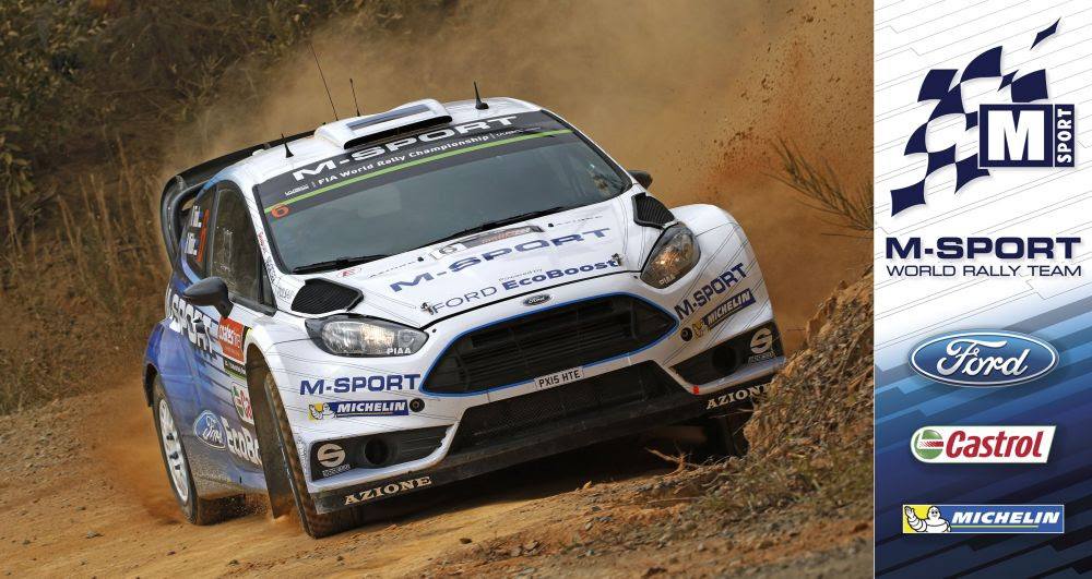 FIA WORLD RALLY CHAMPIONSHIP (WRC 2015): M-SPORT WORLD RALLY TEAM – TÄNAK CLIMBS AS FIESTA DOMINATES WRC 2