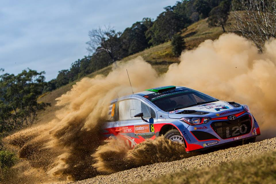 FIA WORLD RALLY CHAMPIONSHIP (WRC 2015): HYUNDAI SHELL WORLD RALLY TEAM – MORE STAGE WINS FOR HYUNDAI MOTORSPORT ON PENULTIMATE DAY OF RALLY AUSTRALIA