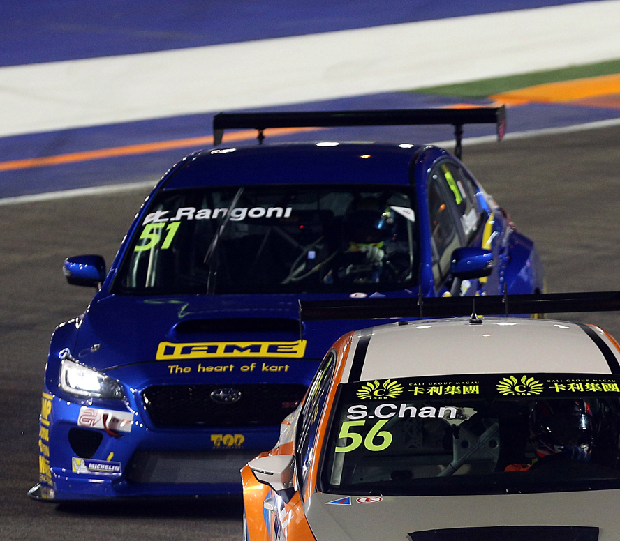 TCR INTERNACIONAL SERIES (TCR 2015): TOP RUN SUBARU MOTORSPORT- TOP RUN SUBARU LLEGA A LA PISTA DESPUÉS DE UNA ODISEA INTERMINABLE