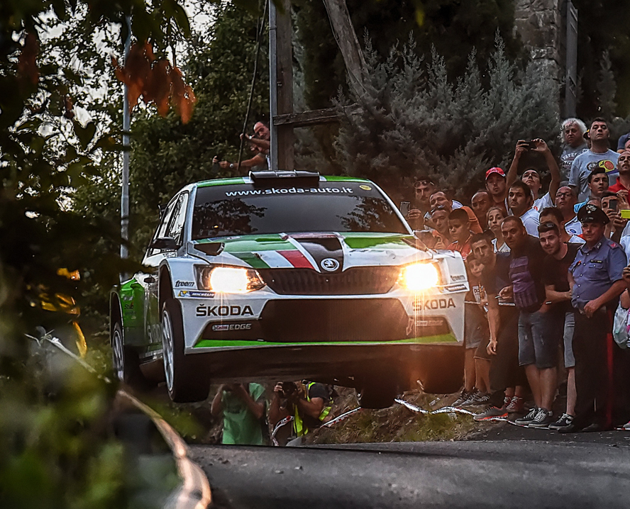 ITALIAN RALLY CHAMPIONSHIP (CIR 2015): UMBERTO SCANDOLA AND GUIDO D'AMORE WIN THE 3RD RALLY DI ROMA CAPITALE ON SKODA FABIA R5