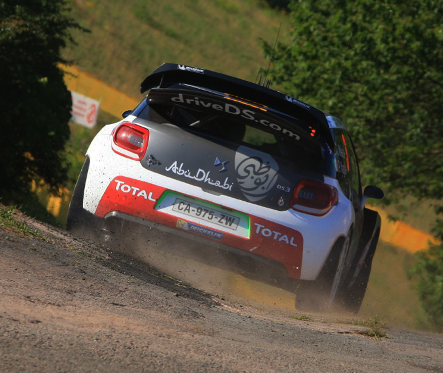 FIA WORLD RALLY CHAMPIONSHIP (WRC 2015): CITROËN TOTAL ABU DHABI WORLD RALLY TEAM – THE DS 3 WRCS TAKE ON 10,000 TURNS!