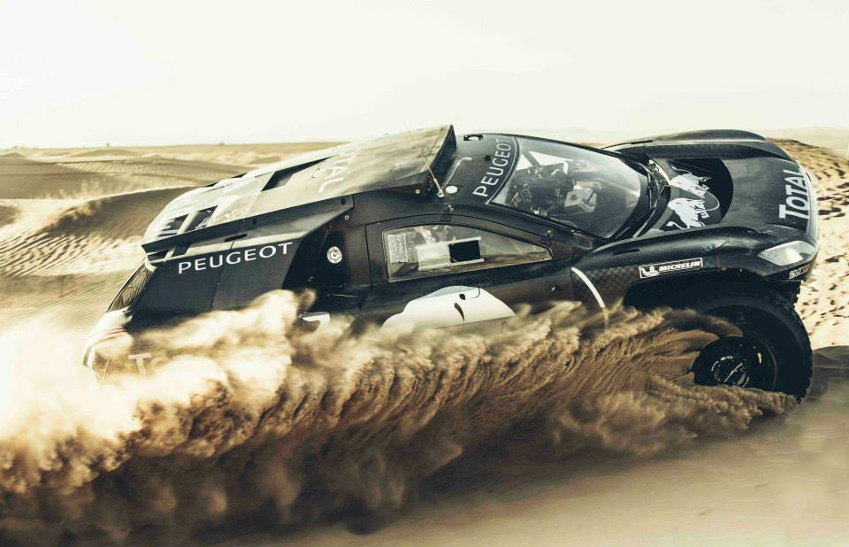 DAKAR ARGENTINA – BOLIVIA – ARGENTINA 2016: PEUGEOT TOTAL TEAM – THE PEUGEOT 2008 DKR16 JUST GOT BIGGER – AND BETTER!