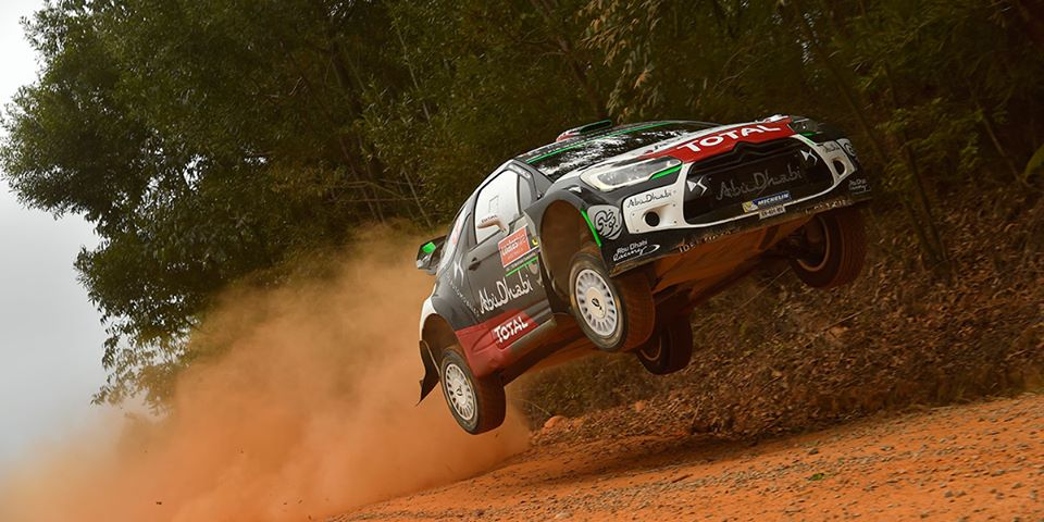 FIA WORLD RALLY CHAMPIONSHIP (WRC 2015): CITROËN TOTAL ABU DHABI WORLD RALLY TEAM – KRIS MEEKE IN THE MIX AT THE FINISH!