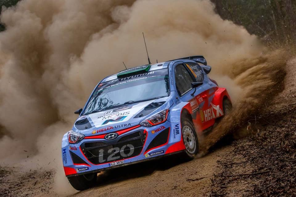 FIA WORLD RALLY CHAMPIONSHIP (WRC 2015): HYUNDAI SHELL WORLD RALLY TEAM – CONFIDENT START FOR HYUNDAI MOTORSPORT ON OPENING DAY OF RALLY AUSTRALIA