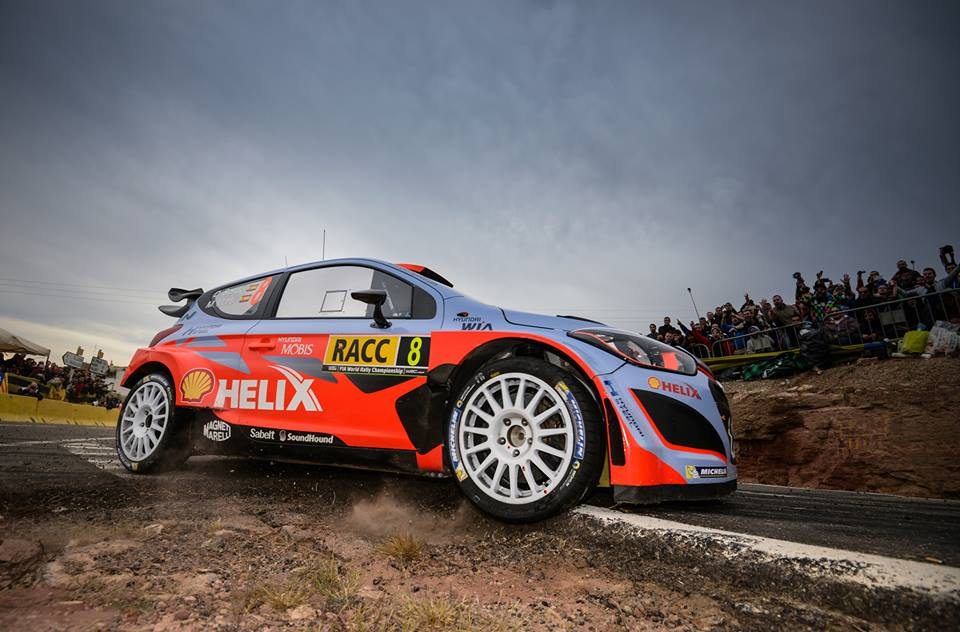 FIA WORLD RALLY CHAMPIONSHIP (WRC 2015): RALLY DE ESPAÑA – HYUNDAI SHELL WORLD RALLY TEAM – FANTASTIC SPANISH PODIUM FOR HYUNDAI MOTORSPORT AS SORDO TAKES THIRD