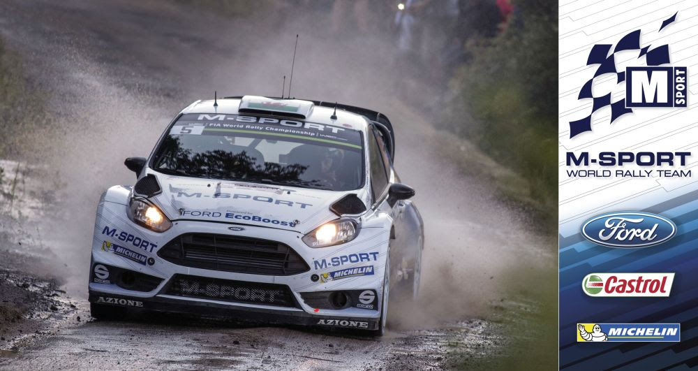 FIA WORLD RALLY CHAMPIONSHIP (WRC 2015): M-SPORT WORLD RALLY TEAM – EVANS IN THE HUNT FOR TOUR DE CORSE VICTORY