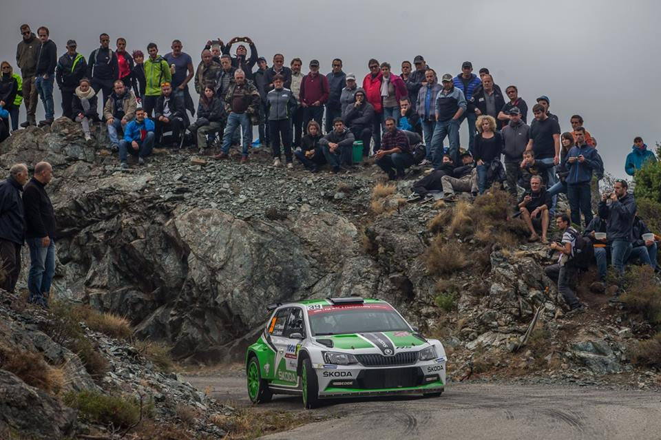 FIA WORLD RALLY CHAMPIONSHIP (WRC2- 2015): ŠKODA MOTORSPORT – RALLY SPAIN: FULL SPEED TOWARDS THE TITLE WITH THREE ŠKODA FABIA R5 WORKS CARS
