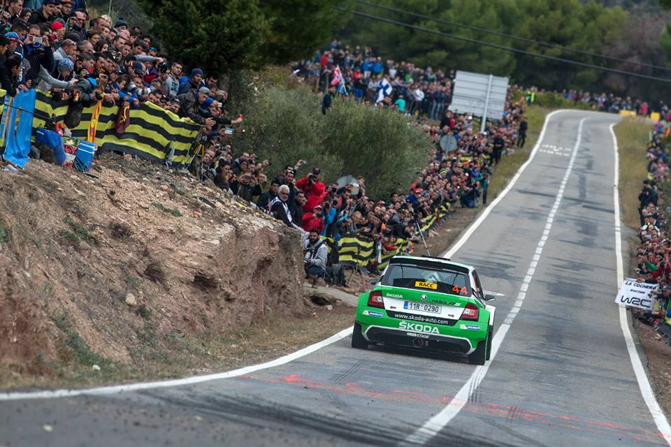 FIA WORLD RALLY CHAMPIONSHIP (WRC2-2015): RALLY DE ESPAÑA – ŠKODA MOTORSPORT – ŠKODA CLAIMS ONE-TWO WITH TIDEMAND AND KOPECKY