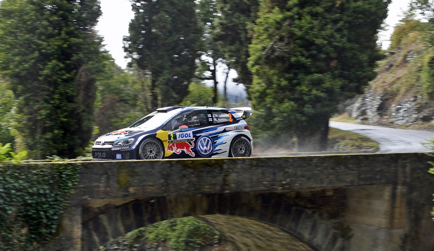 FIA WORLD RALLY CHAMPIONSHIP (WRC 2015): TOUR DE CORSE – VOLKSWAGEN RED BULL MOTORSPORT – STORM ON CORSICA, LATVALA/ANTTILA THIRD AT THE RALLY FRANCE