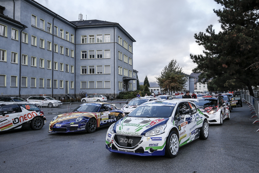 Ambiance during the 2015 European Rally Championship ERC Valais rally, from October 29 to 31th, at Sion, Switzerland. Photo Alexandre Guillaumot / DPPI