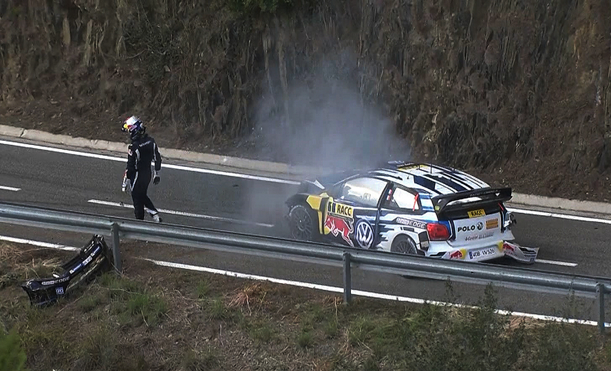 FIA WORLD RALLY CHAMPIONSHIP (WRC 2015): RALLY DE ESPAÑA – OGIER CRASH GIFTS MIKKELSEN MAIDEN WIN