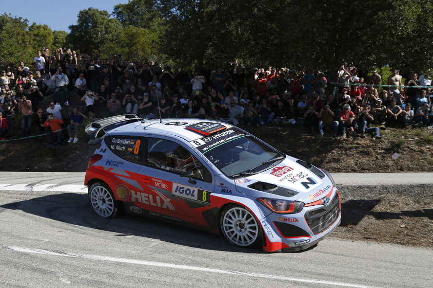 FIA WORLD RALLY CHAMPIONSHIP (WRC 2015): TOUR DE CORSE – HYUNDAI SHELL WORLD RALLY TEAM – TOP-FIVE FINISH FOR HYUNDAI MOTORSPORT AFTER DRAMATIC FINAL DAY OF TOUR DE CORSE