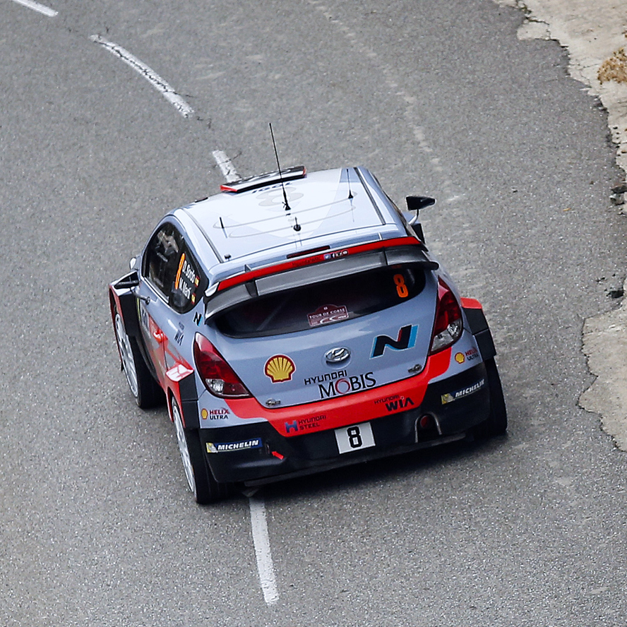 2015 World Rally Championship / Round 11 /  Tour de Corse // 1st - 4th October, 2015 // Worldwide Copyright: Hyundai Motorsport