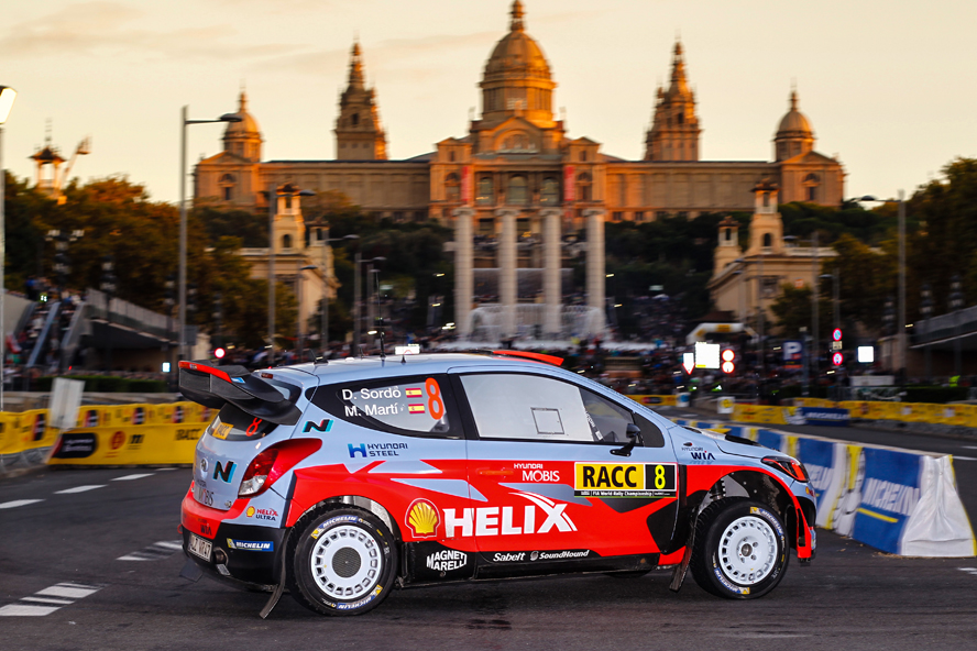 2015 World Rally Championship / Round 12 /  Rally of Spain, Catalunya / 22nd - 25th October, 2015 // Worldwide Copyright: Hyundai Motorsport