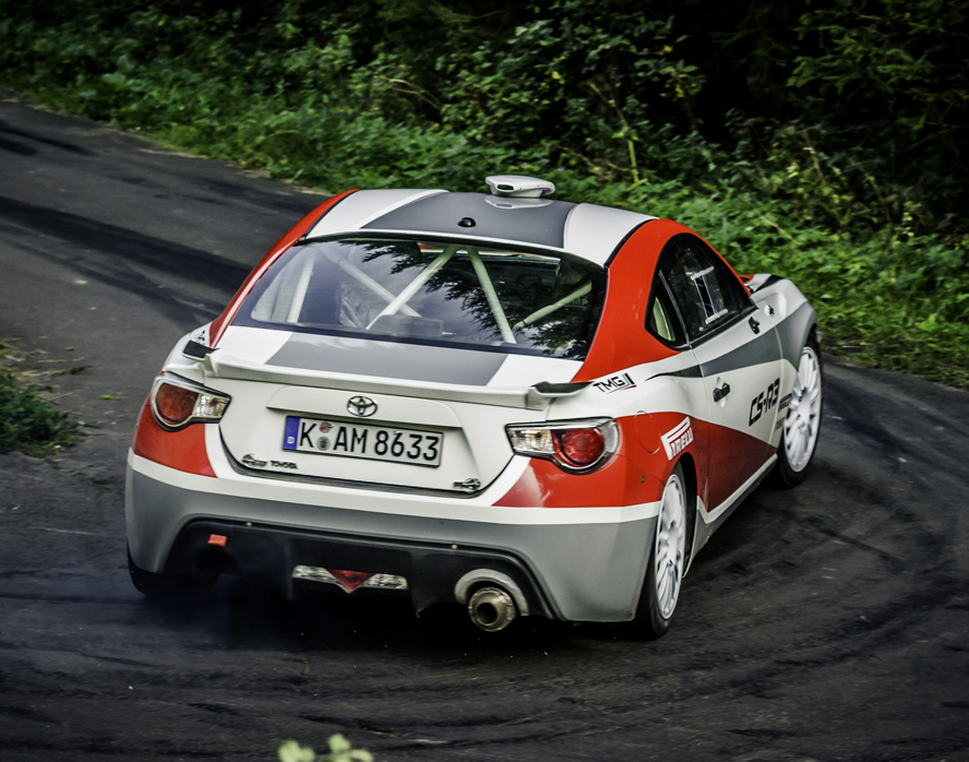 FIA WORLD RALLY CHAMPIONSHIP (WRC – R3) 2015 – TOYOTA MOTORSPORT GmBH –  GT86 CS-R3 FINALLY BRINGS RWD BACK TO RALLY