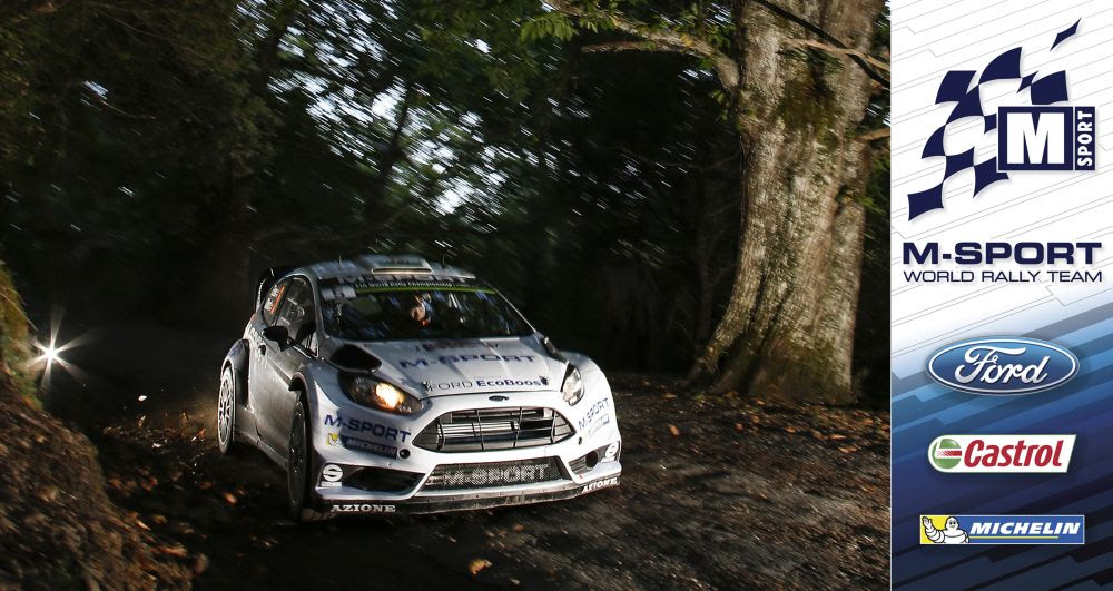 FIA WORLD RALLY CHAMPIONSHIP (WRC 2015): TOUR DE CORSE – M-SPORT WORLD RALLY TEAM – EVANS CLAIMS CAREER BEST IN CORSICA