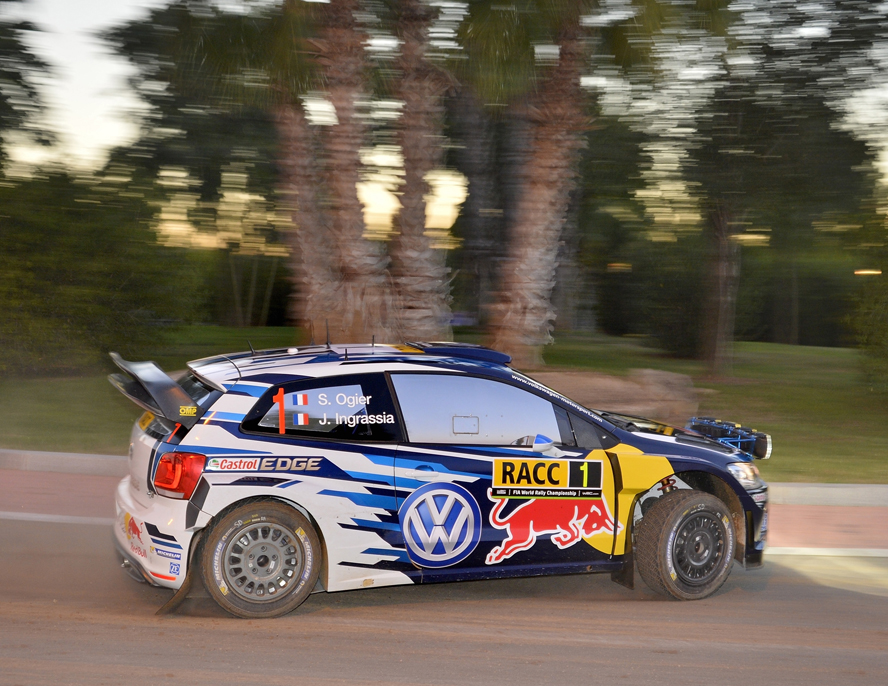 FIA WORLD RALLY CHAMPIONSHIP (WRC 2015): VOLKSWAGEN RED BULL MOTORSPORT – SYSTEMS RUNNING PERFECTLY – VOLKSWAGEN WARMS UP NICELY FOR RALLY SPAIN ON SHAKEDOWN