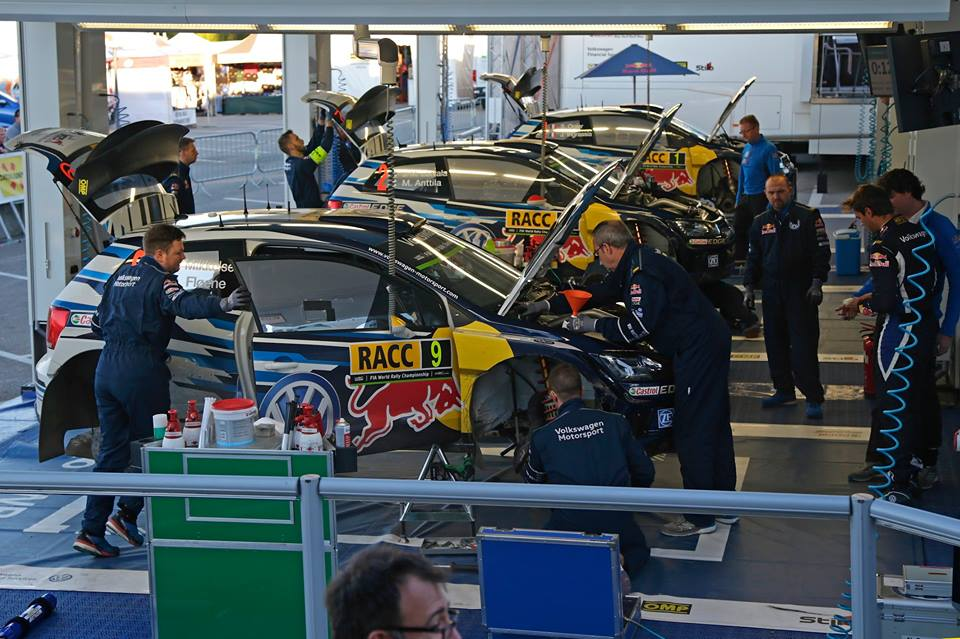 FIA WORLD RALLY CHAMPIONSHIP (WRC 2015): RALLY DE ESPAÑA – VOLKSWAGEN RED BULL MOTORSPORT – TACTICAL MASTERCLASS – OGIER AND LATVALA LEAD THE WAY FOR VOLKSWAGEN IN SPAIN