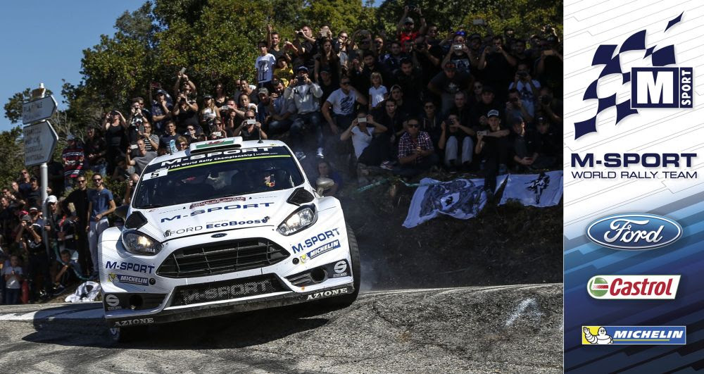 FIA WORLD RALLY CHAMPIONSHIP (WRC 2015): M-SPORT WORLD RALLY TEAM – M-SPORT CHASE CHAMPIONSHIP BOOST ON THE COSTA DAURADA