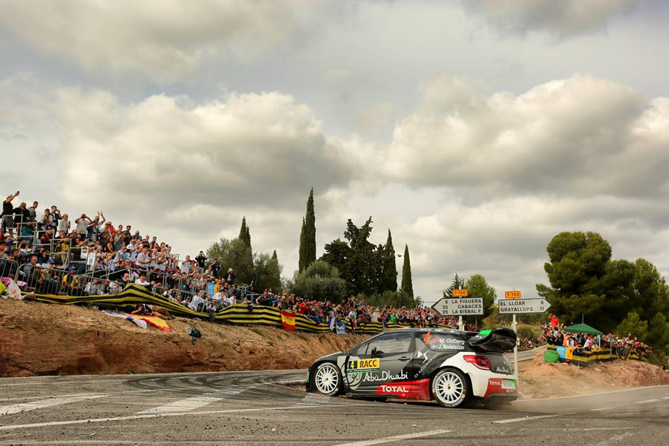 FIA WORLD RALLY CHAMPIONSHIP (WRC 2015): RALLY DE ESPAÑA – CITROËN TOTAL ABU DHABI WORLD RALLY TEAM – IMPORTANT POINTS AHEAD OF THE FINAL ROUND!