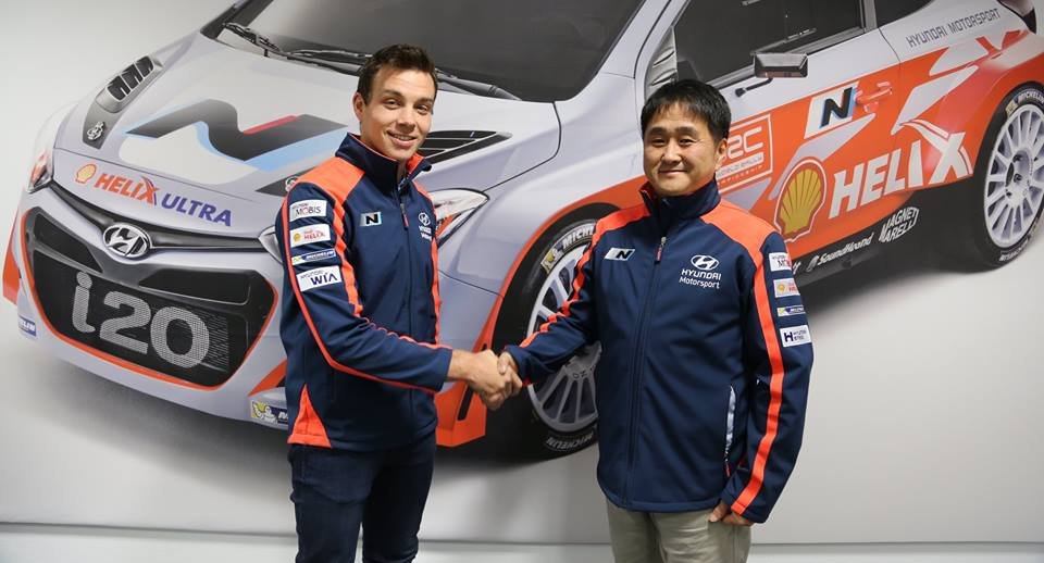 FIA WORLD RALLY CHAMPIONSHIP (WRC 2015 / 2016): HYUNDAI SHELL WORLD RALLY TEAM – HYUNDAI MOTORSPORT CONFIRMS THREE-YEAR CONTRACT WITH HAYDEN PADDON FROM 2016