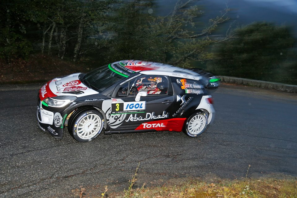 FIA WORLD RALLY CHAMPIONSHIP (WRC 2015): CITROËN TOTAL ABU DHABI WORLD RALLY TEAM – STRONG START FOR THE DS 3 WRCS IN CORSICA