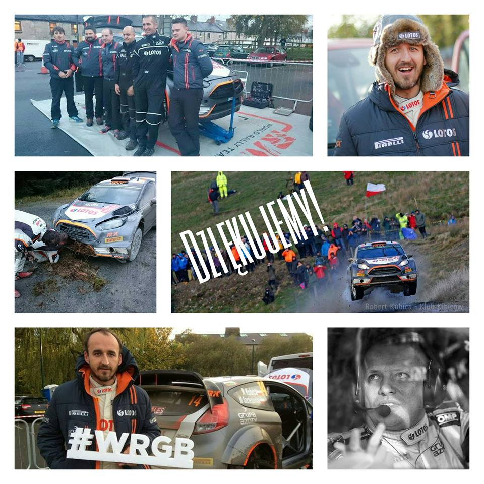 FIA WORLD RALLY CHAMPIONSHIP (WRC 2015): KUBICA CONCLUDES SEASON IN TOP 10 ON WALES RALLY GREAT BRITAIN – WALES RALLY GB – PIRELLI MOTORSPORT