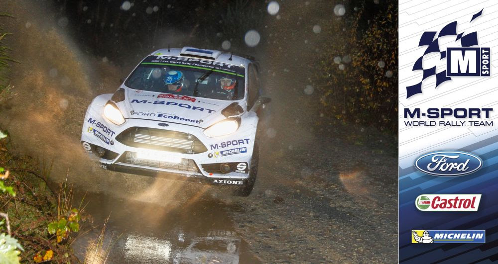 FIA WORLD RALLY CHAMPIONSHIP (WRC 2015): WALES RALLY GB – M-SPORT WORLD RALLY TEAM –  M-SPORT FIGHT BACK IN WALES