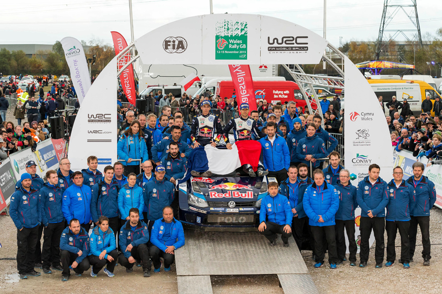 FIA WORLD RALLY CHAMPIONSHIP 2015 -WRC Wales Rally (GB) -  WRC 12/11/2015 to 15/11/2015 - PHOTO :  @World