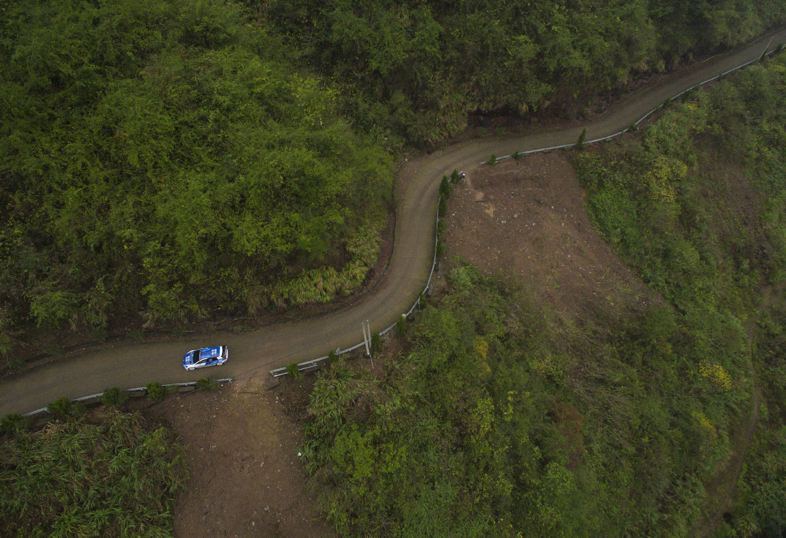 CHINESE RALLY CHAMPIONSHIP (CRC 2015): WUYI RALLY- THREE GOLF RACING CARS HELPED FAW-VW WIN CRC WUYI i LEG