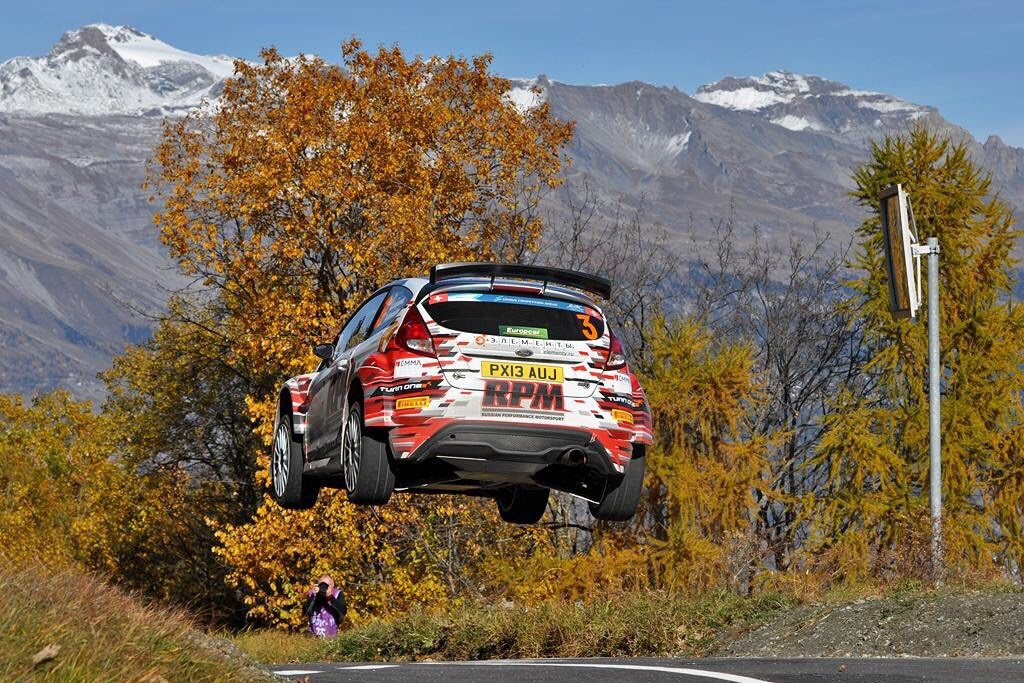 FIA EUROPEAN RALLY CHAMPIONSHIP (ERC 2015): ALEXEY LUKYANUK WINS THE RALLYE DU VALAIS WITH PIRELLI