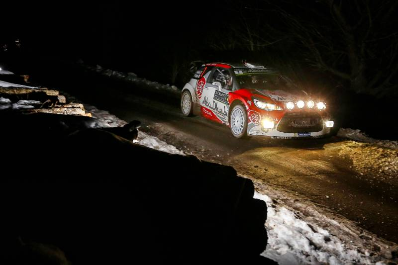 FIA WORLD RALLY CHAMPIONSHIP (WRC 2016): KRIS MEEKE LIGHTS UP THE RALLYE MONTE-CARLO!