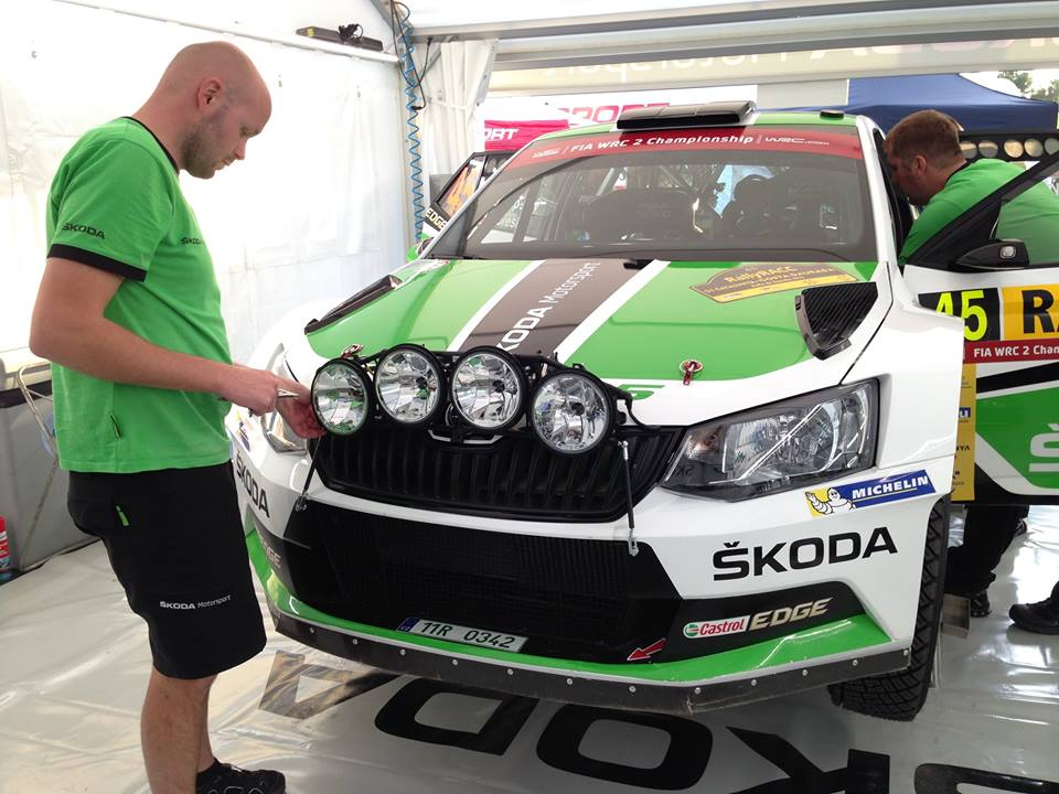FIA WORLD RALLY CHAMPIONSHIP (WRC 2 – 2016): ŠKODA KICKS OFF THE 2016 MOTORSPORT YEAR WITH THE WRC 2 EVENT IN SWEDEN