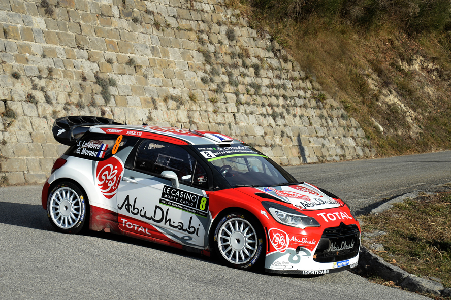 Stephane Lefebvre (FRA) - Gabin Moreau (FRA)- Citroen DS3 WRC  FIA WORLD RALLY CHAMPIONSHIP 2016 -WRC Monte Carlo (FRA) -  WRC 18/01/2016 to 24/01/2016 - PHOTO :  @World