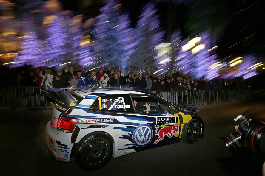 "FIA WORLD RALLY CHAMPIONSHIP (WRC 2016): VOLKSWAGEN GETS NEW RALLY SEASON OFF TO A SUCCESSFUL START AT THE ""MONTE"""