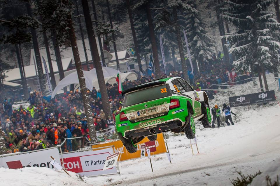 FIA WORLD RALLY CHAMPIONSHIP (WRC 2 – 2016): ŠKODA CELEBRATES PODIUM POSITIONS AT THE RALLY SWEDEN