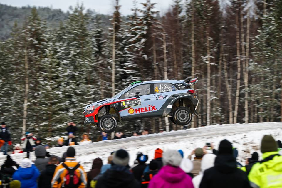FIA WORLD RALLY CHAMPIONSHIP (WRC 2016): SECOND PODIUM FOR NEW GENERATION i20 WRC AS HAYDEN PADDON SEALS SECOND IN SWEDEN