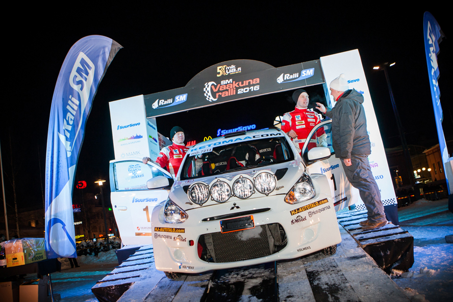 FINNISH RALLY CHAMPIONSHIP (FRC 2016): JARI KETOMAA SCORES ANOTHER TOP RESULT FOR R5 MITSUBISHI