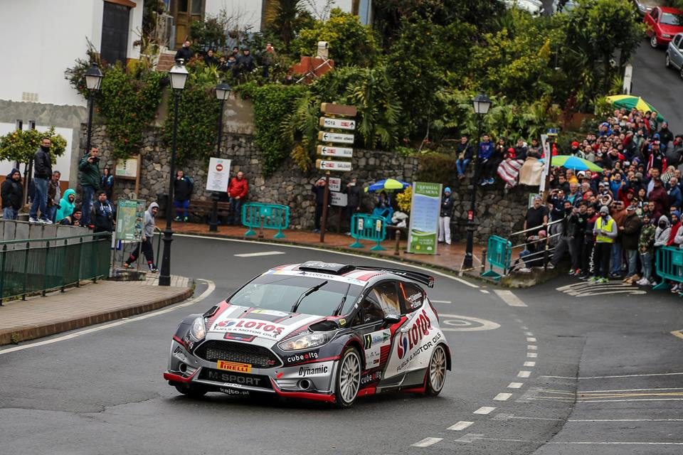 FIA EUROPEAN RALLY CHAMPIONSHIP (ERC 2016): ERC RALLY ISLAS CANARIAS DAY ONE REPORT: KAJETANOWICZ LEADS, ØSTBERG CRASHES