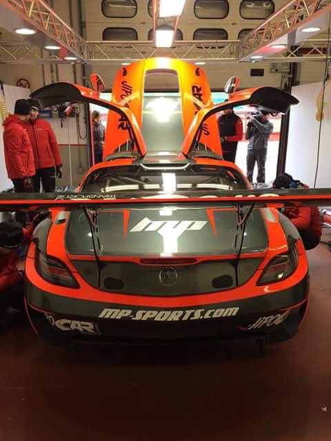 ROBERT KUBICA & MARTIN PROKOP CON LA MERCEDES SLS AMG GT3 BY MP-SPORTS TEAM