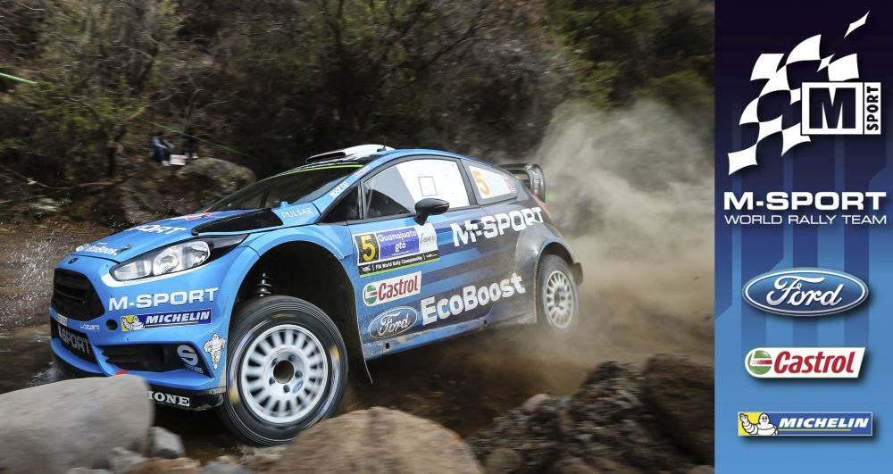 FIA WORLD RALLY CHAMPIONSHIP (WRC 2016): M-SPORT WORLD RALLY TEAM – MIDDAY QUOTES – RALLY MEXICO, SECTION TWO