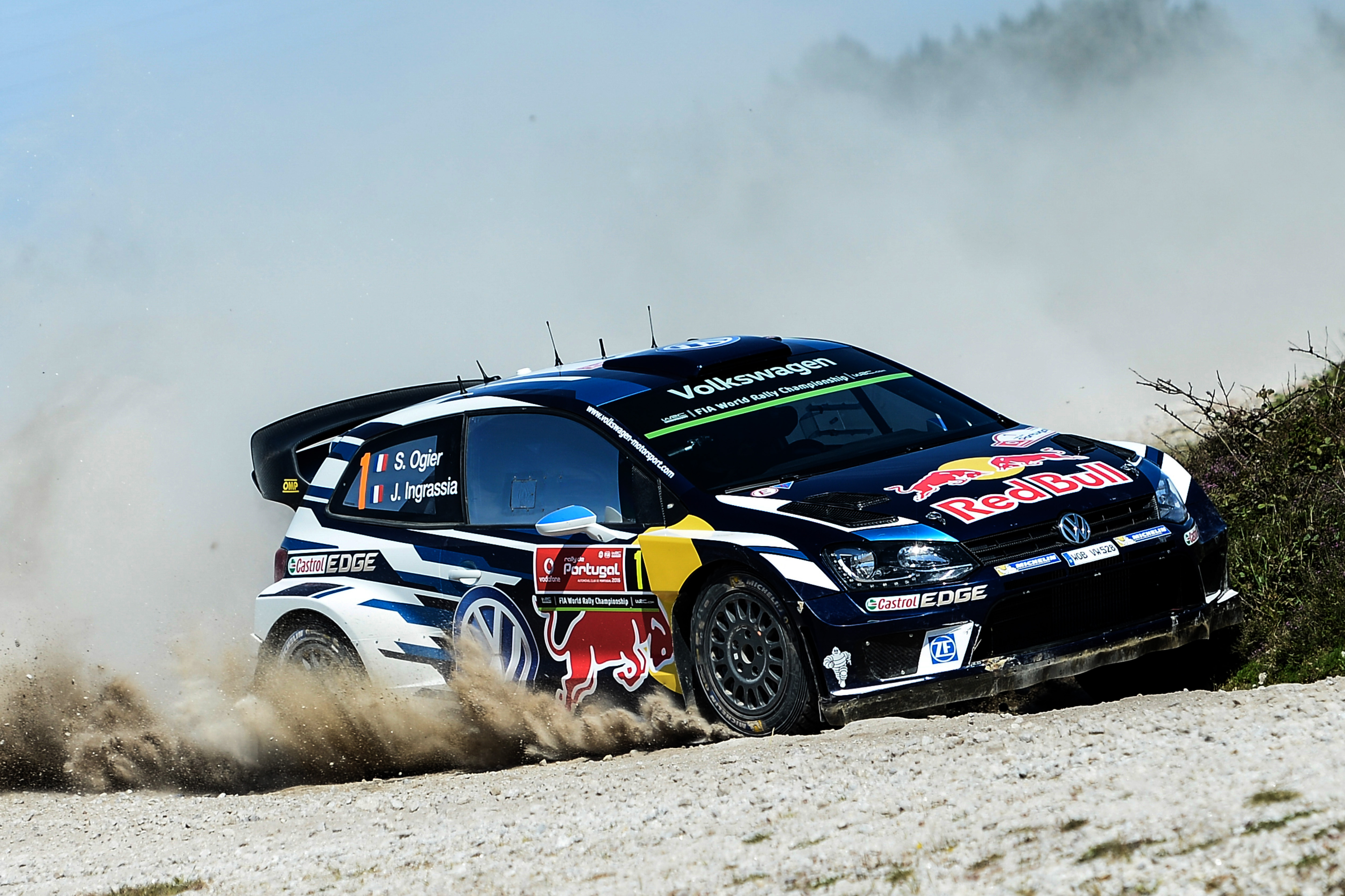 VOLKSWAGEN ON COURSE FOR THE PODIUM WITH OGIER AND MIKKELSEN