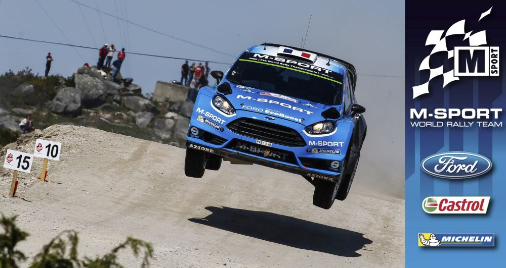 PROGRESS PROVED, M-SPORT PURSUE FURTHER PACE IN PORTUGAL