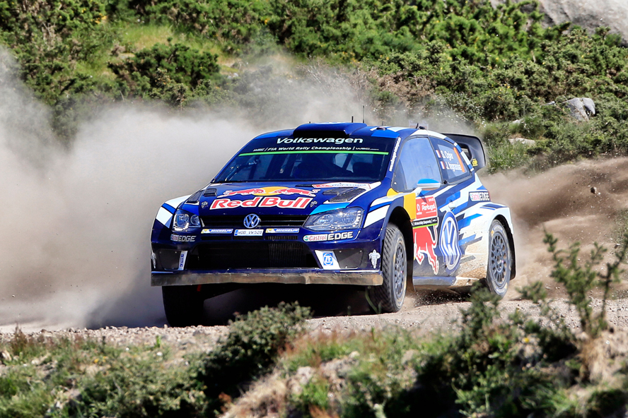 OGIER SECOND, MIKKELSEN THIRD – VOLKSWAGEN SET FOR BIG FIGHTBACK ON FINAL DAY IN PORTUGAL
