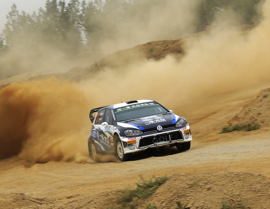 GOLF DOMINATED TRACKS AND FAW-VW WON FIRST BATTLE OF CRC
