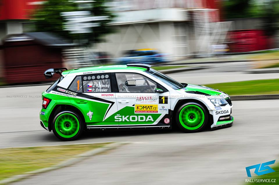 KOPECKY COMPLETES HAT-TRICK OF VICTORIES FOR ŠKODA IN CZECH CHAMPIONSHIP