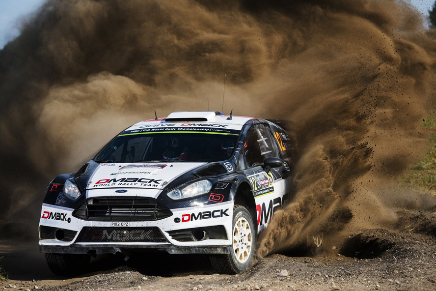 TÄNAK CLOSES ON MAIDEN WIN IN POLAND