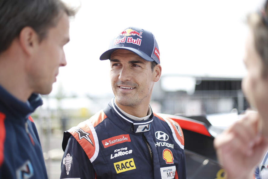 HYUNDAI MOTORSPORT CONFIRMS DANI SORDO WILL MISS RALLY FINLAND