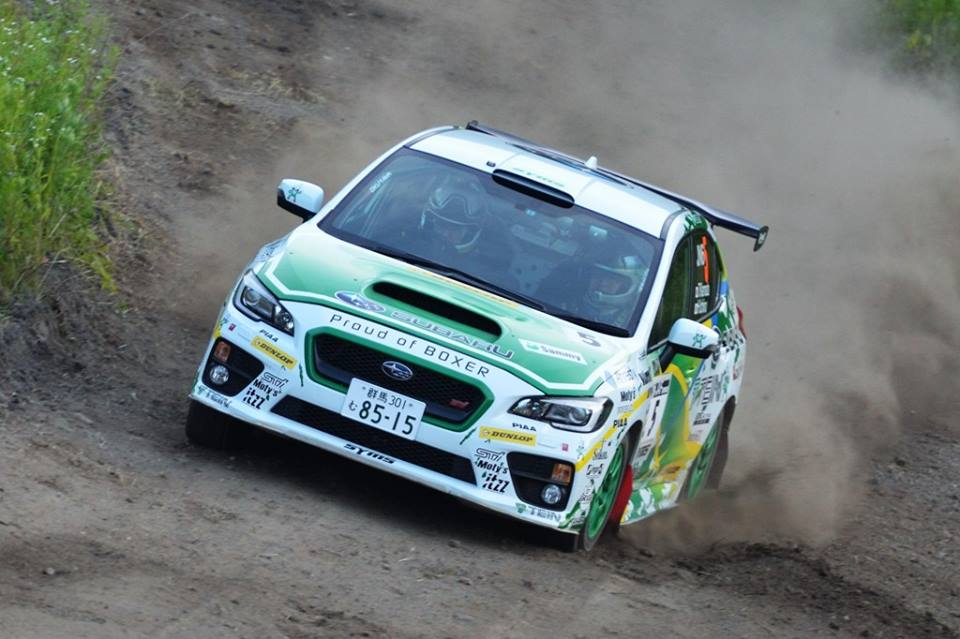 "JAPANESE RALLY CHAMPIONSHIP: ROUND 5 "" 2016 ARK RALLY TOYA"" WAS HELD"